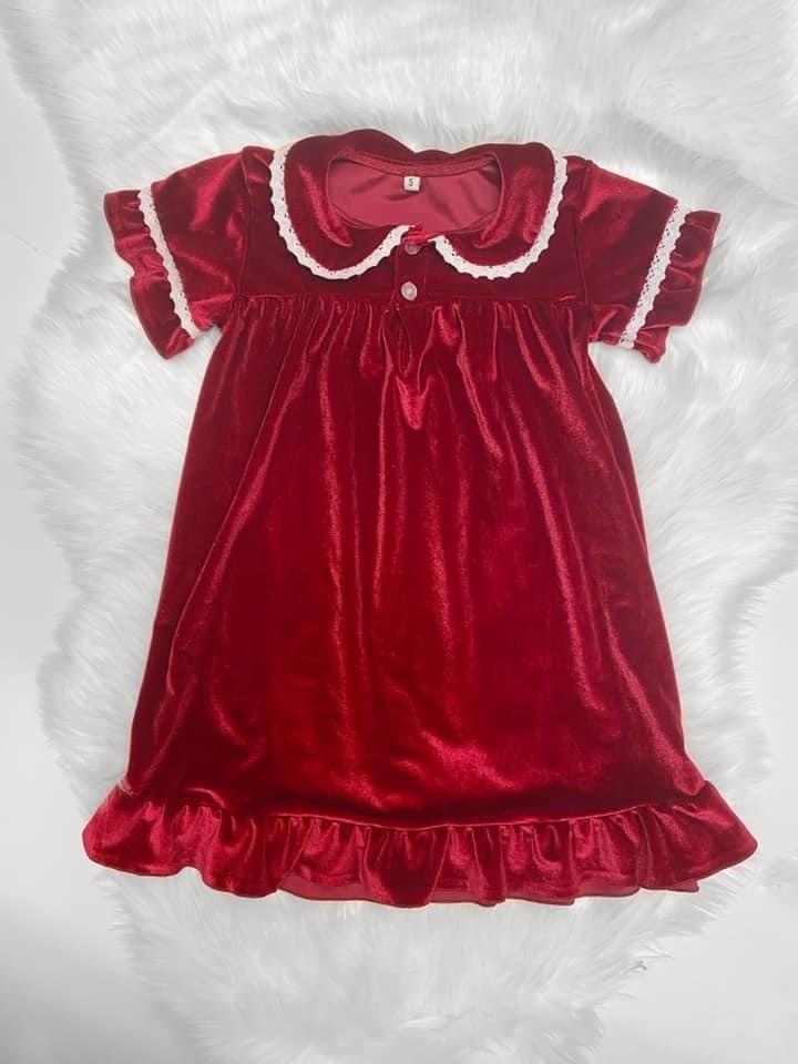 Luxe Christmas Nightdress
