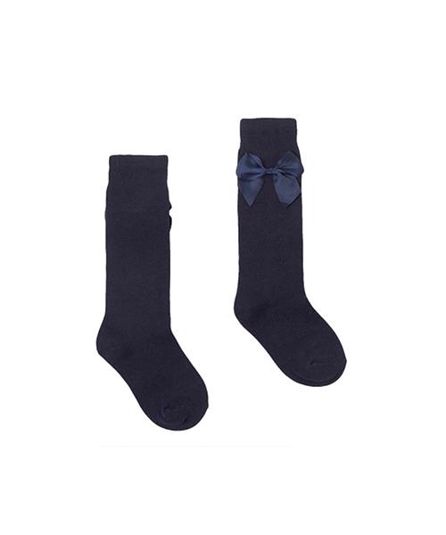 Poppy-rose-boutique-Newness-girls-navy-bow-socks