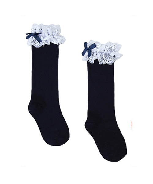 Poppy-rose-boutique-Newness-girls-navy-lace-frill-socks