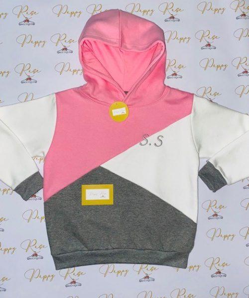 pink, white, grey hoodie1